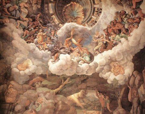 L'Olympe, Panthéon de Saint Seiya