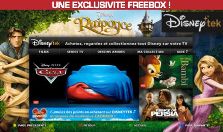 Disneytek et ABCtek sur Freebox. Ce qu'il faut savoir et ce que cela peut changer.