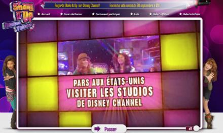 « Shake it Up Dance Talents » : Etape 1 – inauguration du site dédié à l'opération et appel à contributions. Serez vous les nouvelles stars Disney Channel de demain ?