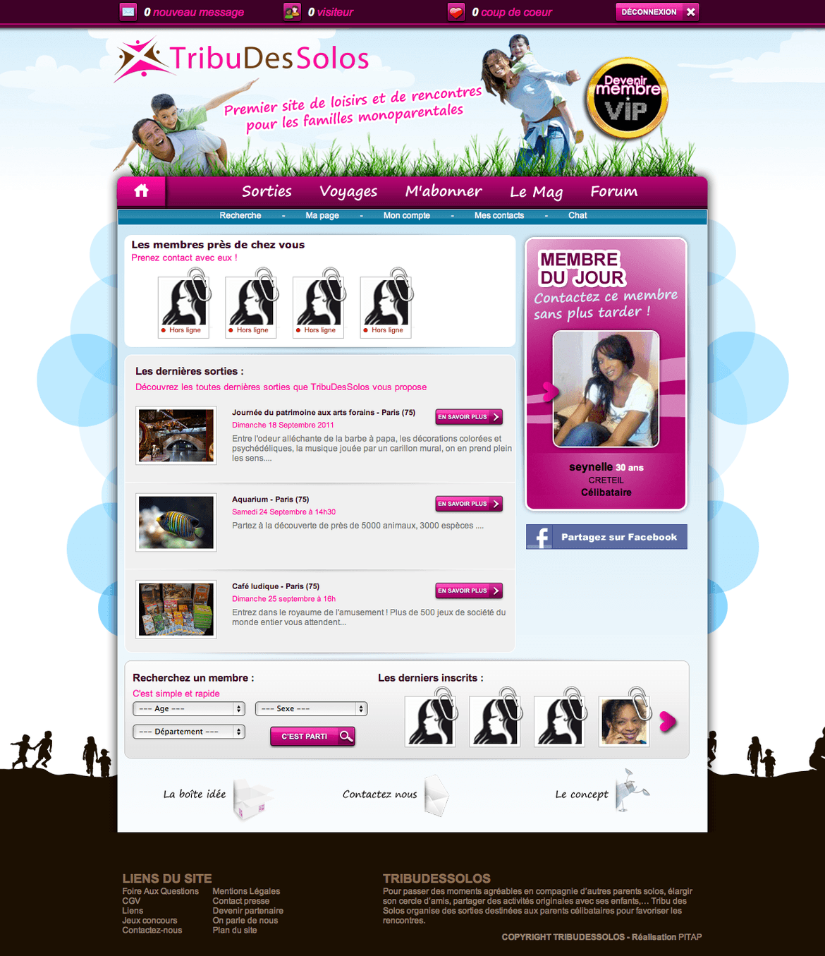 Fabswingers mobile site