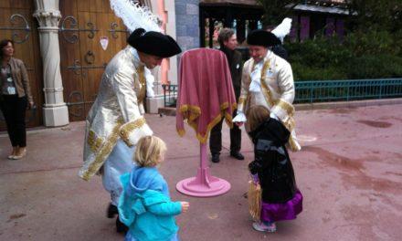 Inauguration officielle du Pavillon des Princesses (Princess Pavilion). Moments magiques pour deux jeunes princesses…