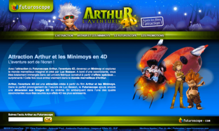 L'attraction « Arthur l'Aventure 4D » du Futuroscope reconnue comme la meilleure attraction au monde en 2011.