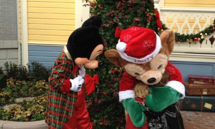 Noël 2011 à Disneyland Paris : Rencontre avec Duffy the Disney Bear et le Père Noël.
