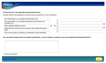 Disneyland Paris interroge ses fans via une enquête en ligne. C'est le moment de donner son avis !