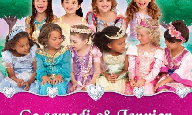 En 2012, toutes les princesses Disney sont à l'honneur au Disney Store