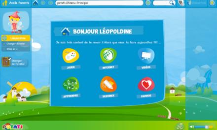 Oubliez le stress et le contrôle parental logiciel : Potati, le premier navigateur web pour enfants. Test et Concours.