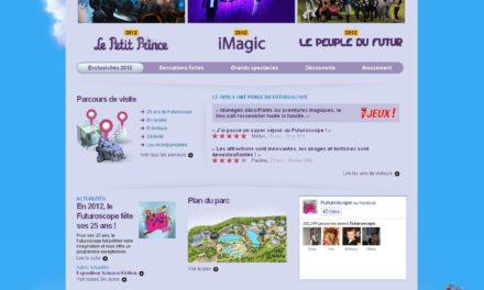 Nouveau site web pour le Futuroscope. Interview de M. Yves PETIT, Responsable Webmarketing de la destination.