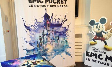 Disney Epic Mickey : Le retour des héros. Présentation par Warren Spector à la Gaité Lyrique de Paris.