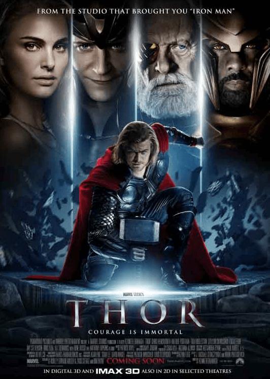 Marathon Marvel - Affiche Thor 1