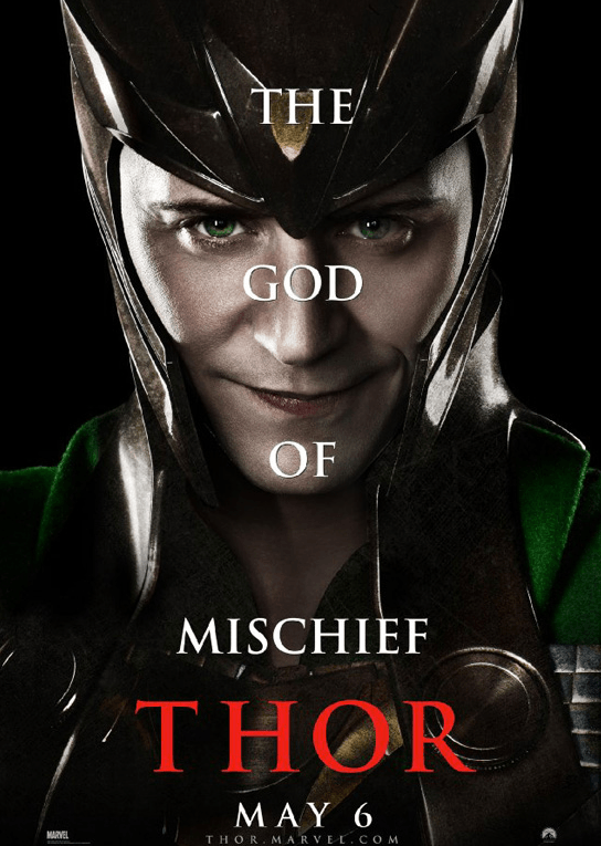 Marathon Marvel - Affiche Thor Loki