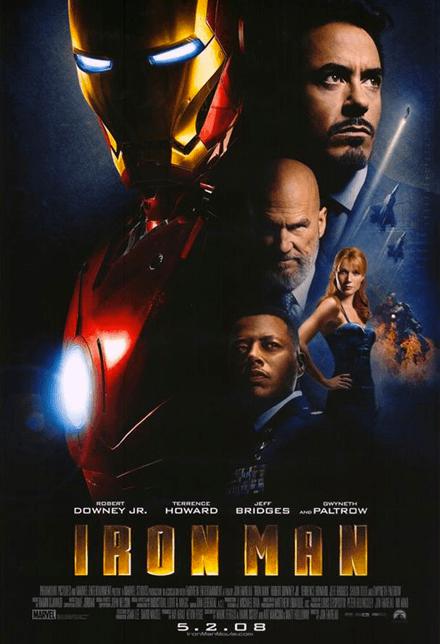 Marathon Marvel - Affiche Iron Man