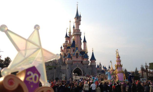 Comme annoncé DISNEYSTORE.FR célèbre les 20 ans de Disneyland Paris.