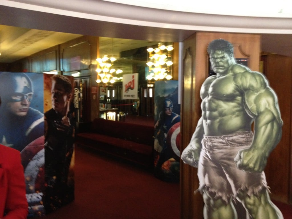 Marathon Marvel - Décorations Grand Rex Hulk