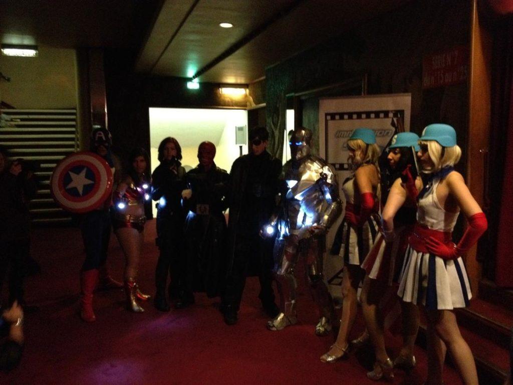 Marathon Marvel - Cosplay