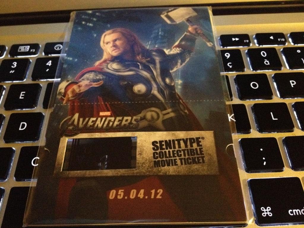Marathon Marvel - Billet SENITYPE COLLECTIBLE MOVIE