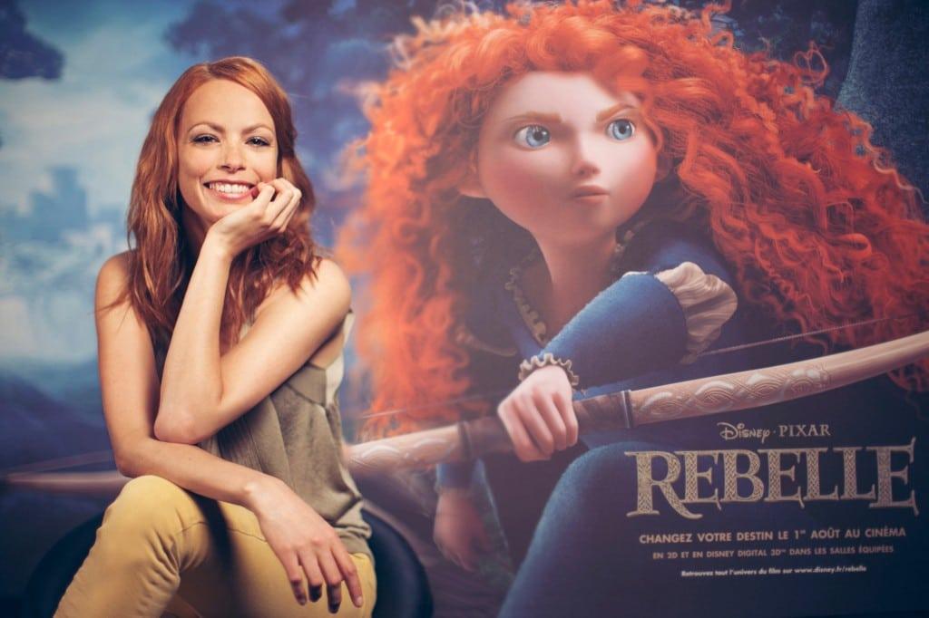 Rebelle - Doublage - Avec la voix de Bérénice Bejo dans le rôle de l'héroïne Merida - 2