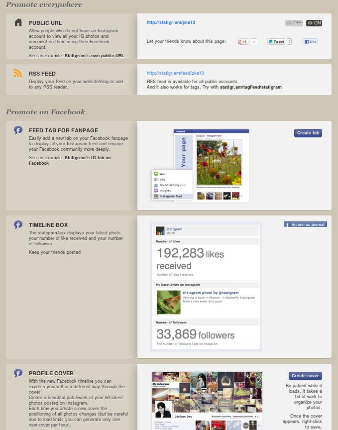 Les outils pour promouvoir son compte Instagram et ses photos
