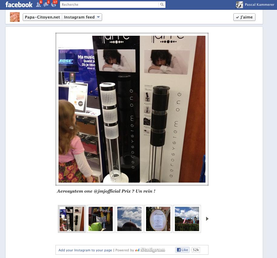 Ajouter un onglet Instagram sur sa page Facebook