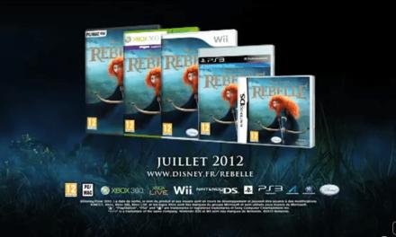 Disney France annonce Rebelle : Le jeu vidéo qui sortira le 26 Juillet sur PS3 (Move), Xbox 360 (Kinect), Wii, DS et sur Windows PC/ MAC.