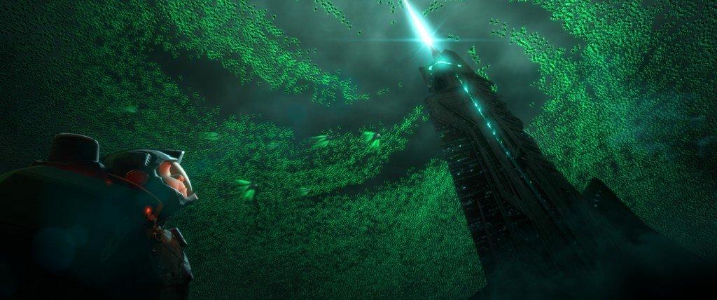 WRECK-IT RALPH Ralph, dans le jeu vidéo « Hero's Duty »
