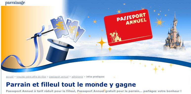 Passeport Annuel Parrainage