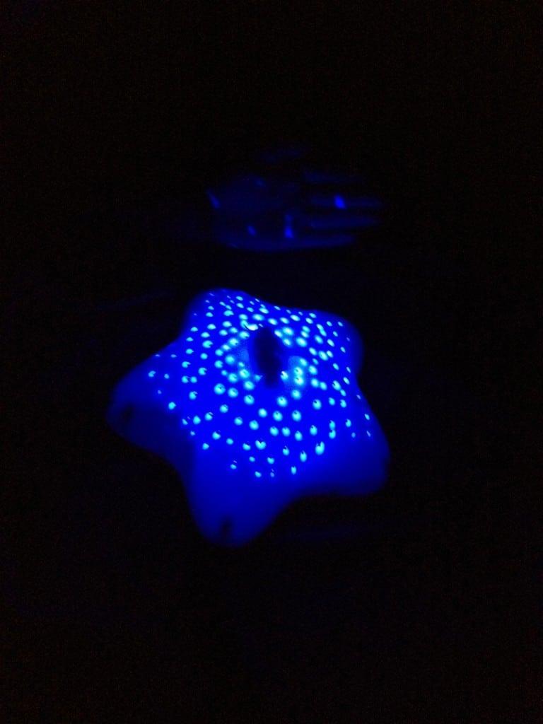 Projecteur Musical d'Etoiles de Pabobo - Bleu