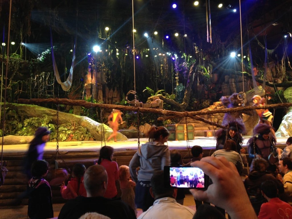 Moment interactif avec les enfants - Tarzan La Rencontre - Représentation Passeports Annuels Dream