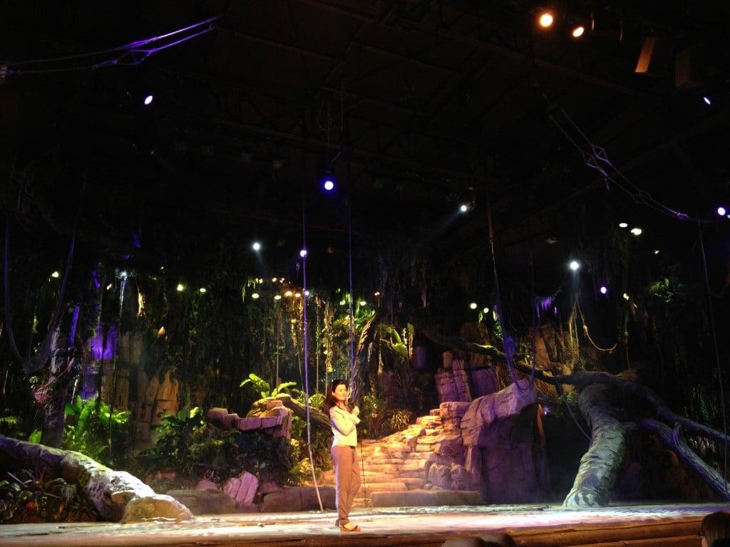 Show Director de Tarzan