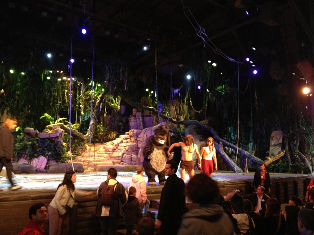 Applaudissements - Tarzan La Rencontre - Représentation Passeports Annuels Dream