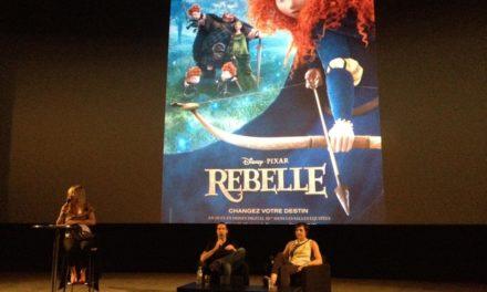"""Retour sur l'avant-première du long métrage d'animation """"Brave / Rebelle"""" de Disney Pixar en présence du réalisateur Mark Andrews et de la productrice Katherine Sarafian. Critique de la VO."""