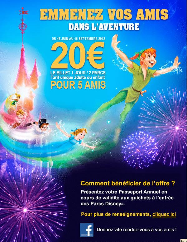 Passeport Annuel - 20 euros pour ses amis