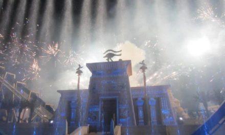 Quand le meilleur de Disneyland Paris inspire le Parc Astérix cela donne ça. Inauguration officielle de l'attraction Oziris.