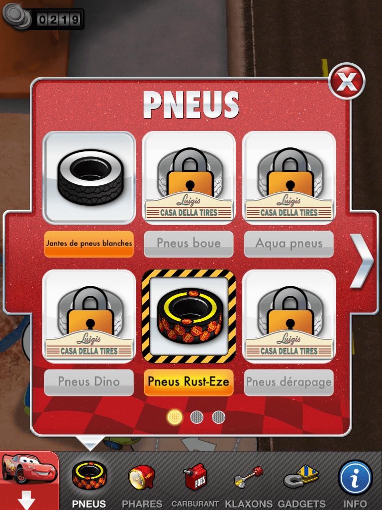 10 - Cars 2 - AppMates - Pneus