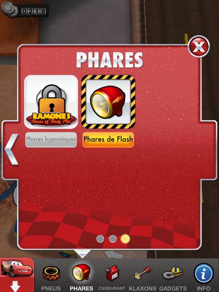 11 - Cars 2 - AppMates - Phares
