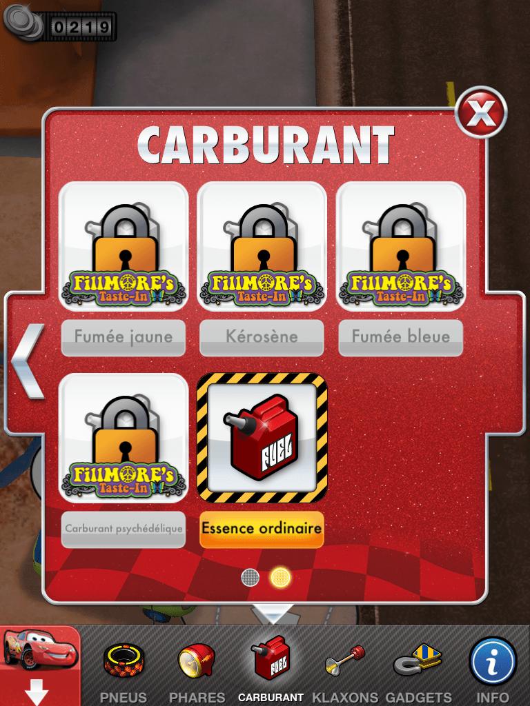 12 - Cars 2 - AppMates - Carburants