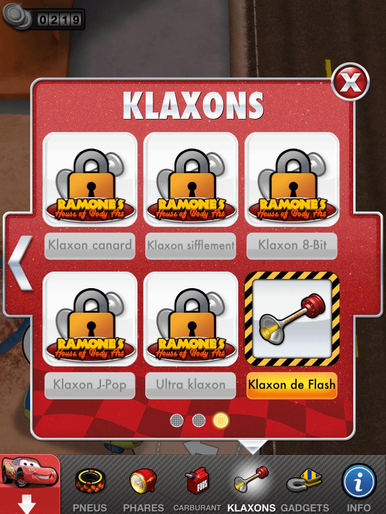 13 - Cars 2 - AppMates - Klaxons