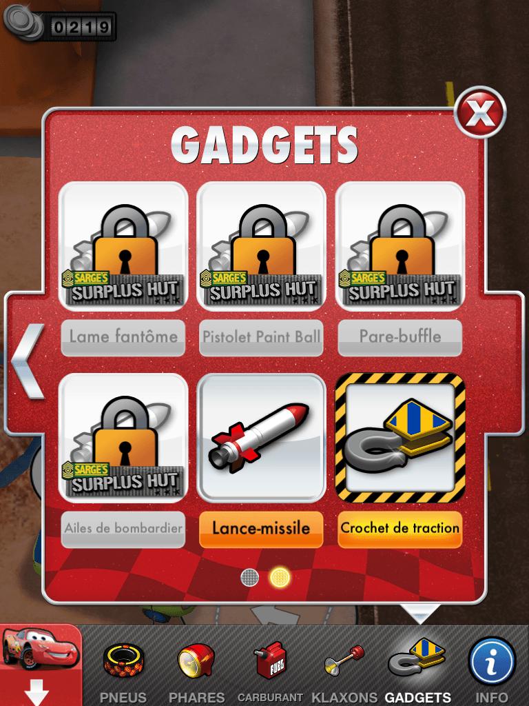 14 - Cars 2 - AppMates - Gadgets