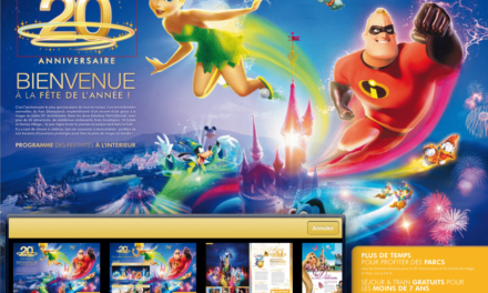 Une application iPad pour parcourir facilement les brochures officielles de Disneyland Paris. Le test.
