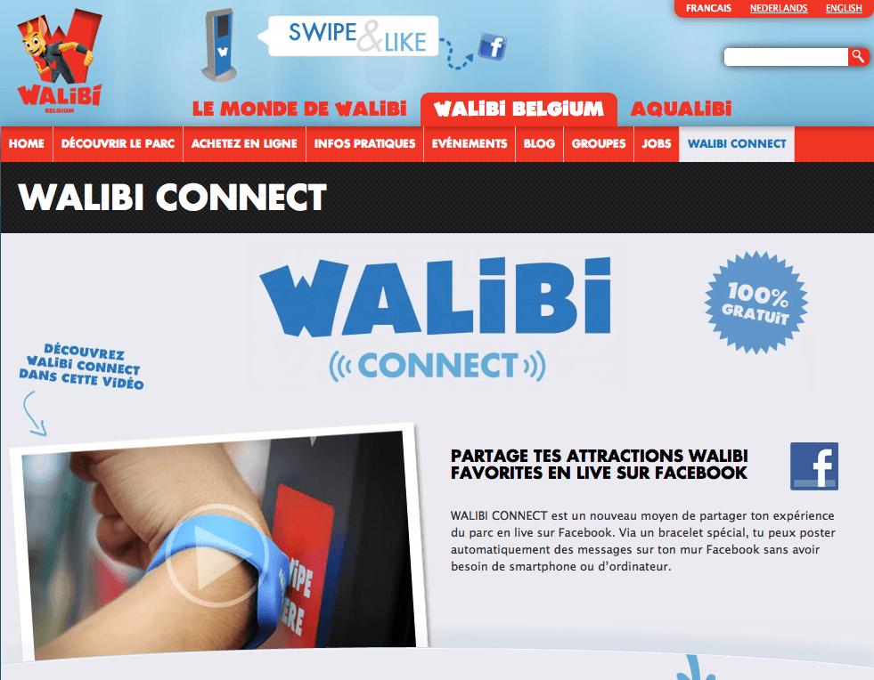 Walibi Belgium - Walibi Connect - Site Web