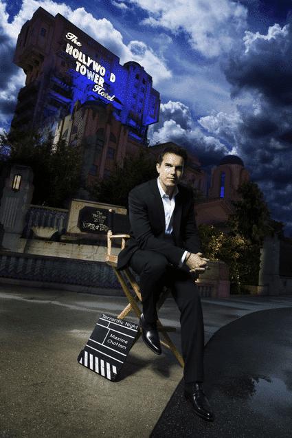 Maxime Chattam investit les soirées Terrorific Night du Festival Halloween de Disneyland Paris