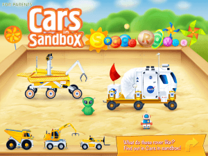 Cars in Sandbox Space Rover - 1 - 0384