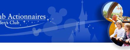 Finalisation du refinancement de la dette du Groupe Euro Disney & Nouvelles conditions d'adhésion du Club Actionnaires.