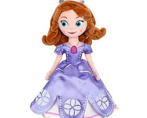 Disney Store référence ses premiers produits Sofia the First (Princesse Sofia), la nouvelle série Disney Junior