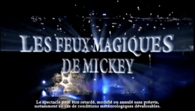 Disney Village - Les Feux Magiques de Mickey 2012