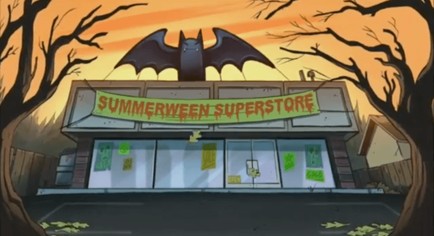 Summerween - Gravity Falls - Superstore