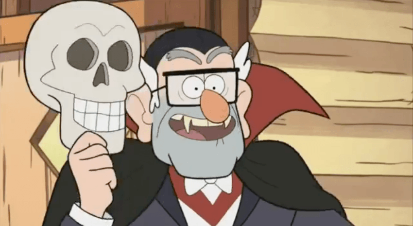 Summerween - Gravity Falls - Stan