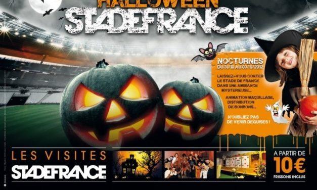 Le Stade de France aussi fête Halloween (Du 31 octobre au 3 novembre 2012)