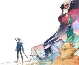 Les Cinq Légendes de Dreamworks s'invitent à la Galerie Arludik du 14 novembre au 8 décembre 2012