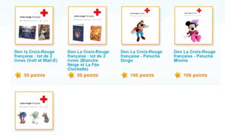 Faire un don à La Croix Rouge grâce à vos achats Disney ? C'est possible.