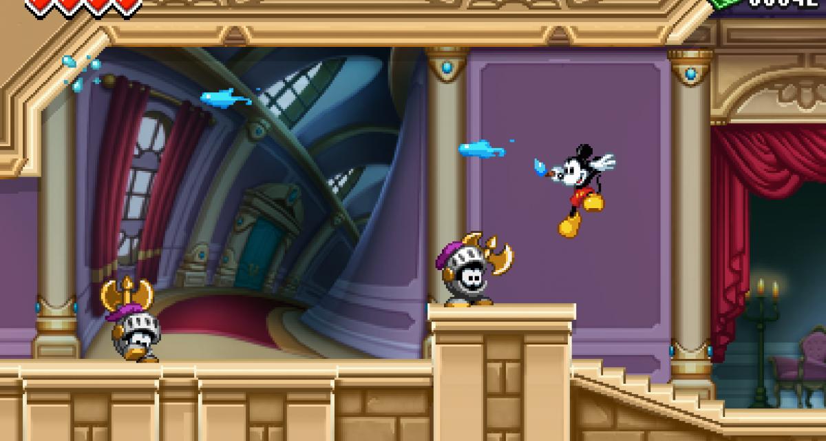 Test du jeu Epic Mickey Power of Illusion sur Nintendo 3DS. Un digne successeur au mythique Castle of Illusion sur Master System et Megadrive ?